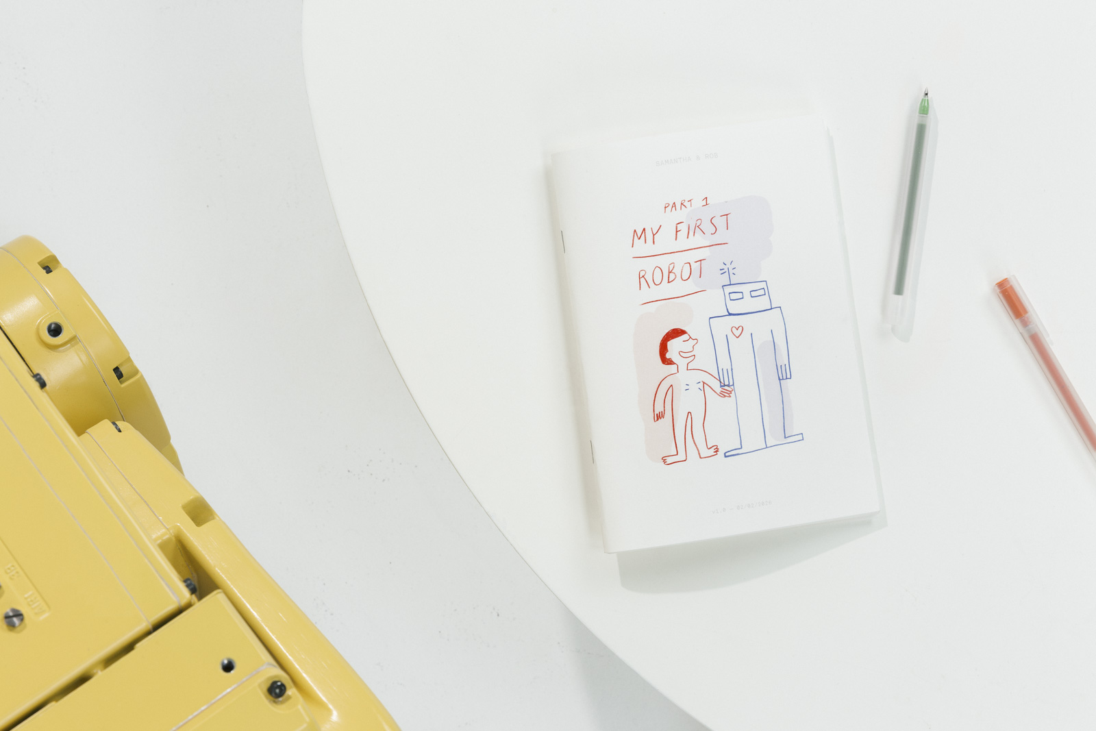 book 'My First Robot'